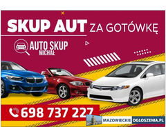 Skup Aut-Skup Samochodów #Mińsk Maz. i okolice# Najwyższe CENY!