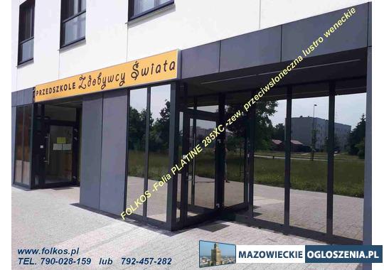 Oklejanie szyb Mińsk Mazowiecki -folie do domu ,biura, szkół, szpitali....Folia na okna, witryny...